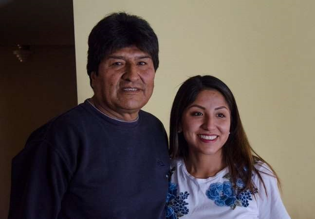 Hijos de Evo Morales se refugian en Argentina