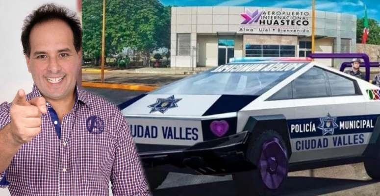 Alcalde de Ciudad Valles  compra 15 cybertruck de Tesla… ¡de un millón y medio cada una!