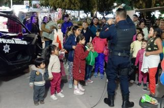 Refuerzan vigilancia policial en la Feria de Pabellón de Arteaga