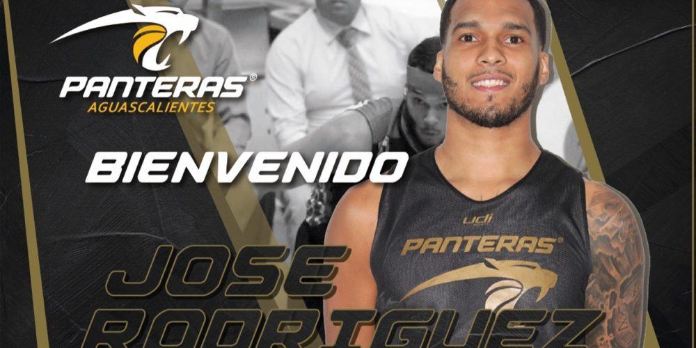 Jose Rodríguez llega  a Panteras de Aguascalientes