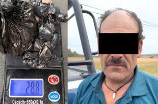 Detienen a Israel por vender drogas en Aguascalientes