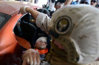 Alrededor de 230 chilenos han perdido la vista por balines de la policía