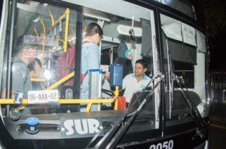 Capacitan a choferes de camión urbano en Aguascalientes
