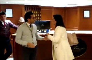 (VIDEO) Diputada Karina Banda discute con personal de la Fiscalía del Estado