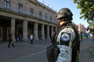 Asegura MOS que el Ejército apoya más que la Guardia Nacional en Aguascalientes
