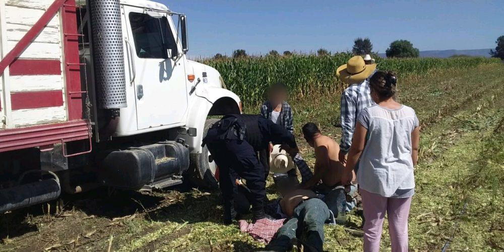 Sufre descarga eléctrica campesino en El Llano, Aguascalientes