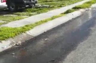 Reportan constantes fugas de agua en Paseos de San Antonio
