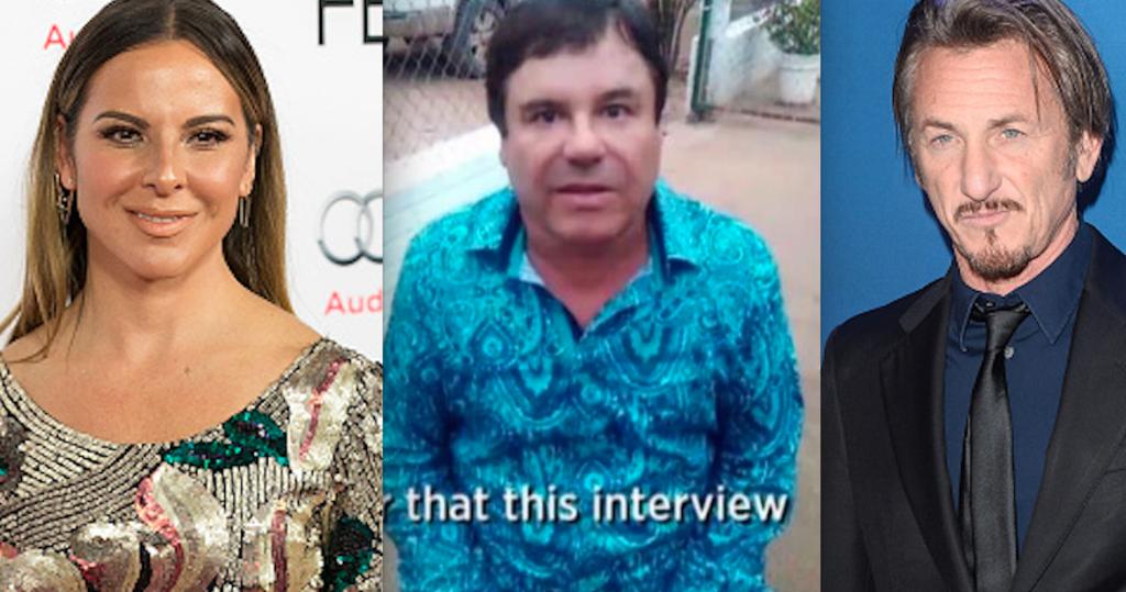 "Sean Penn traicionó a Kate al entrevistar a ""El Chapo"": TMZ"
