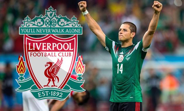 """Quiere Klopp al """"Chicharito"""" en el Liverpool"""