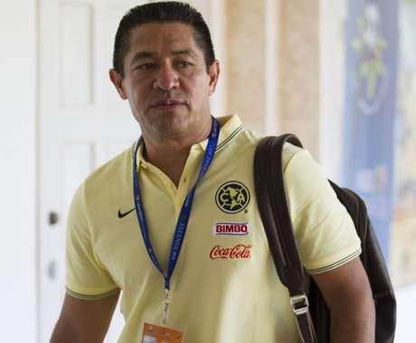 Photo during the Mexican Football Draft 2015, held at the Hotel Iberostar Cancun, on the photo: Ignacio Ambriz coach America  Foto durante el Draft del Futbol Mexicano 2015, celebrado en el Hotel Iberostar Cancun, en la foto: Ignacio Ambriz entrenador de America  10/06/2015/MEXSPORT/Roberto Fernandez.