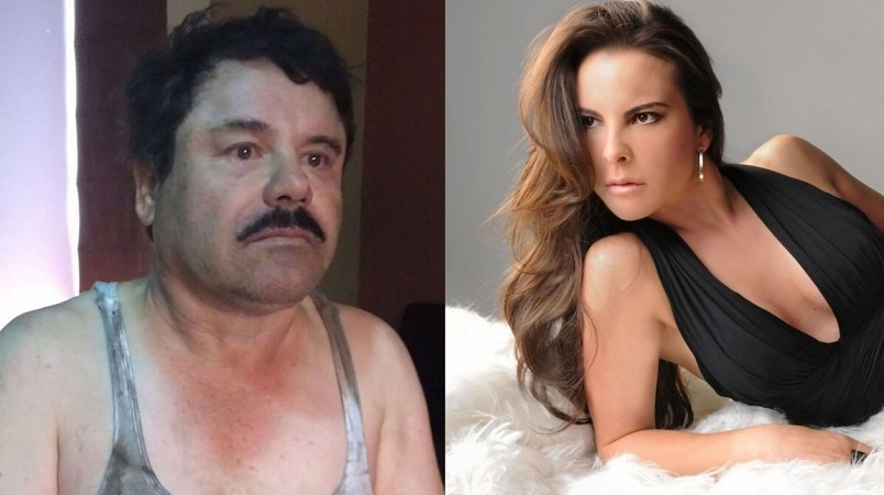 Habló Kate del Castillo de su relación con El Chapo Guzmán