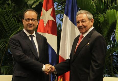 Raúl Castro realiza histórica visita de Estado a Francia