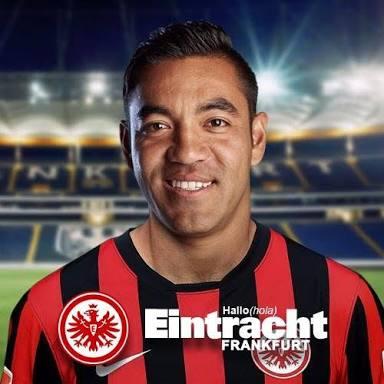 Marco Fabián con buen desempeño en empate de Frankfurt