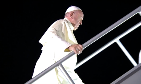 Concluyó el Papa Francisco su gira de actividades en México