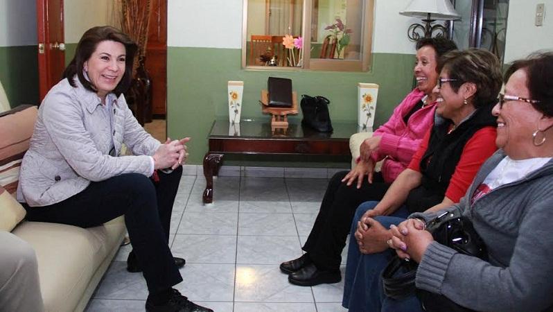 Militantes priístas reconocen el liderazgo y la capacidad de Lorena Martínez