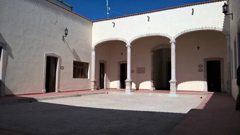 Concluyó la SICOM las obras de rehabilitación de la Casa de la Cultura en Calvillo