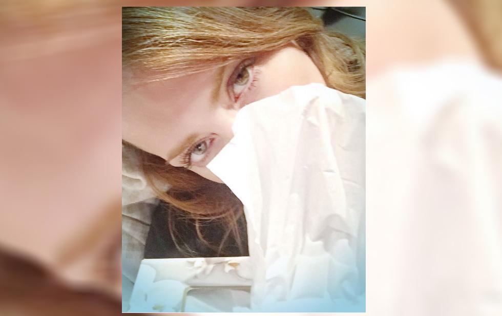 Andrea Legarreta se contagió de influenza