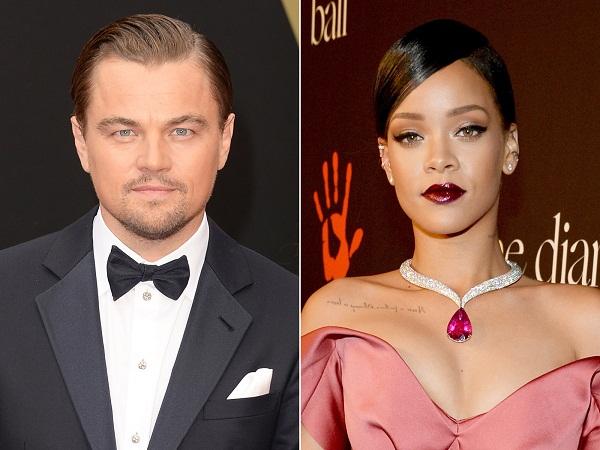 Rihanna desmiente relación sentimental con Leonardo DiCaprio