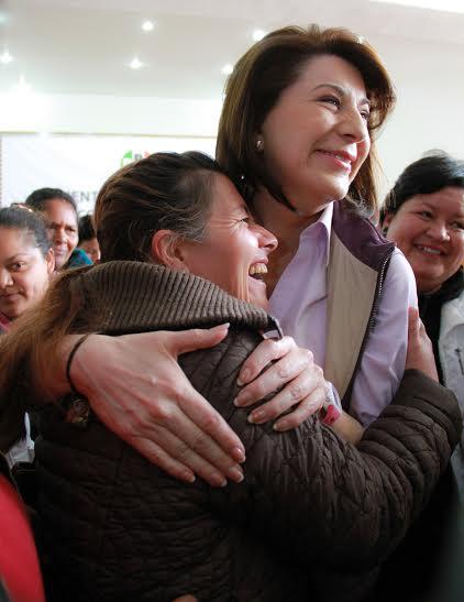 Se reunió Lorena Martínez con militancia tricolor de Pabellón de Hidalgo