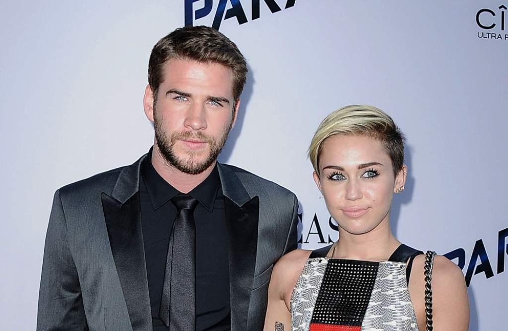 Presumen que Miley Cyrus se casó con el actor Liam Hemsworth