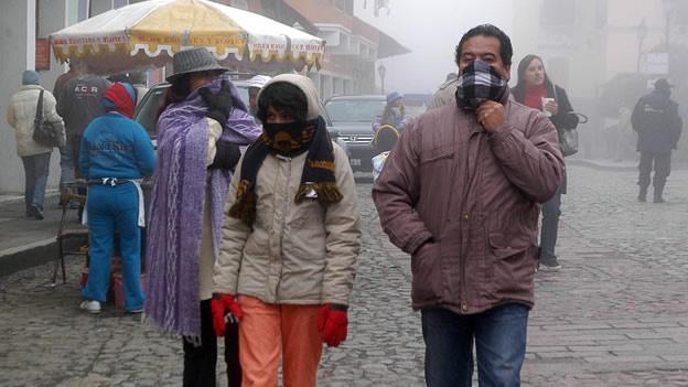 Temperaturas entre 0 y 5 grados en Aguascalientes