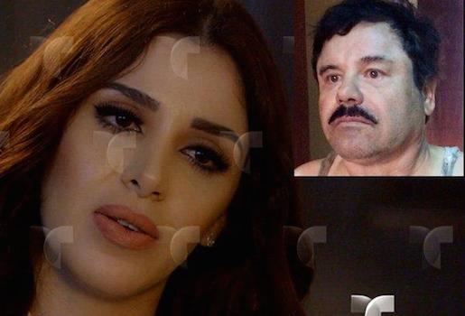 "Ofrecen a la esposa del ""Chapo"" participar en reality show"