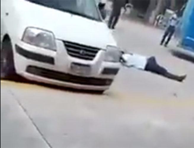 VIDEO: Captan momento de homicidio de ganadero para robarle camioneta