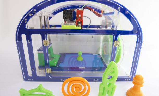 Presentan impresora 3D para niños