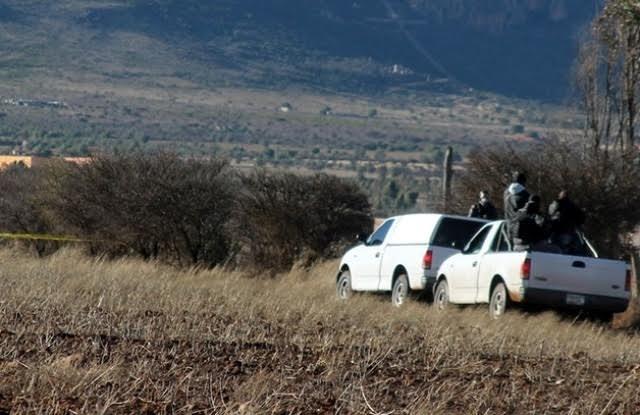 Ejecutan a dos sujetos en Zacatecas cerca de la delegación de la PGR