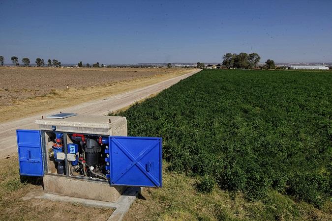 Desarrolla la UAA proyecto de irrigación de cultivos más eficaz que el Distrito de Riego 01