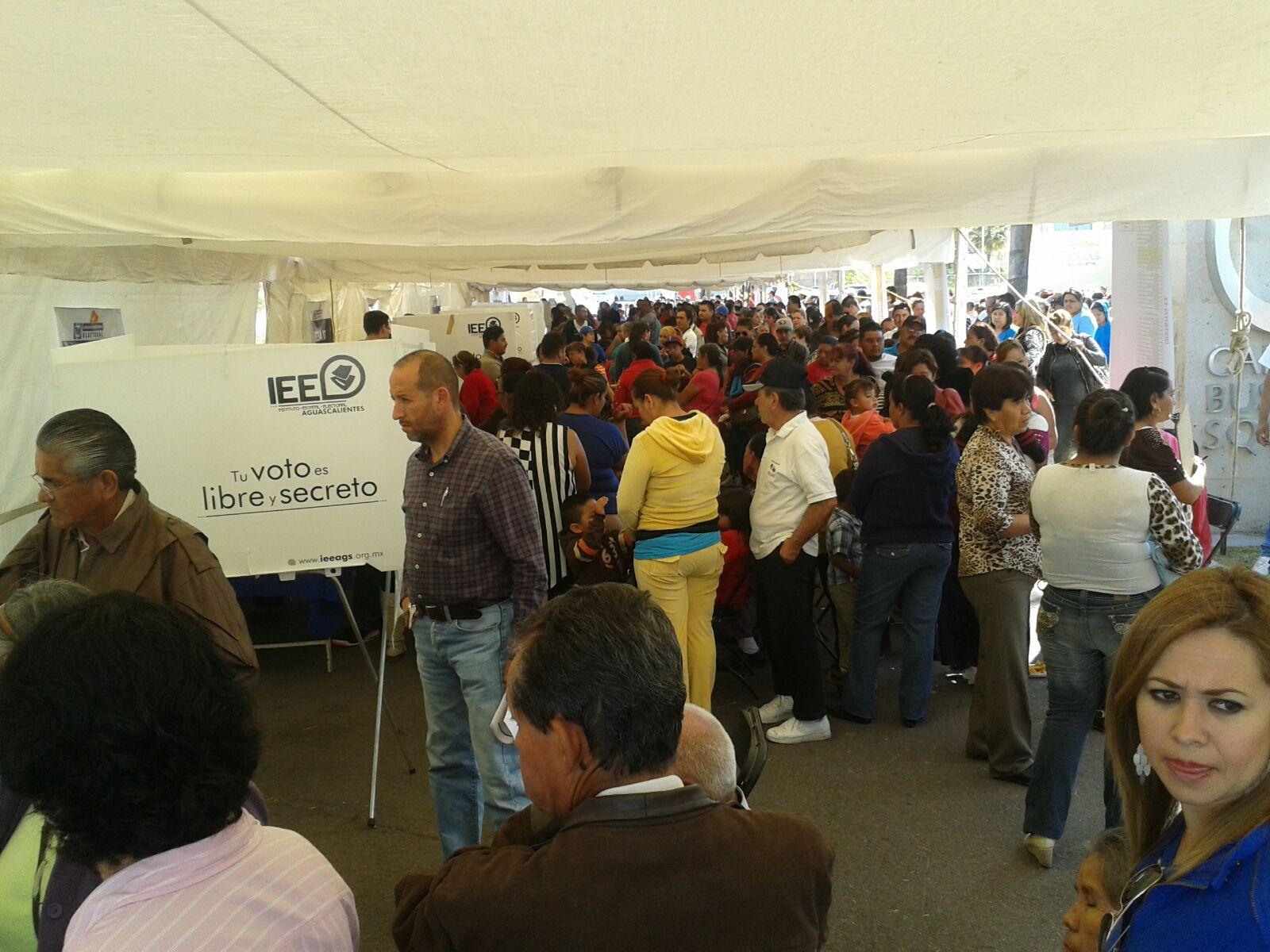 Con buena participación inicia elección del PAN en Aguascalientes