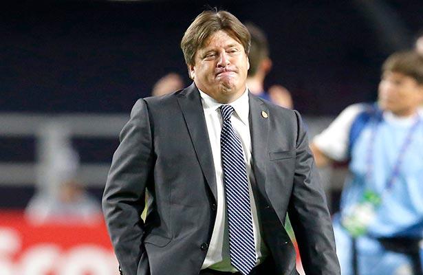 La verdad es que no jugamos nada bien: Miguel Herrera