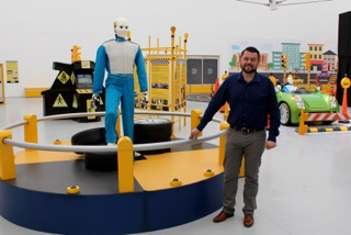 Educación vial es la nueva exposición del Museo Descubre