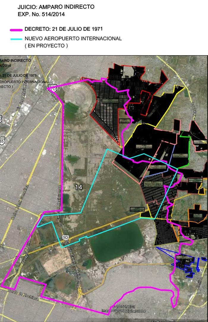 Cinco ejidatarios de Atenco ponen en vilo al NAICM: la SCT usurpó 200 hectáreas, acusan