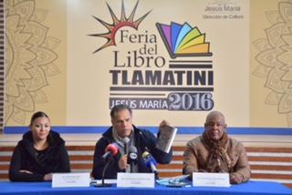Anuncia @Jesus_Maria_ Feria del Libro Tlamatini