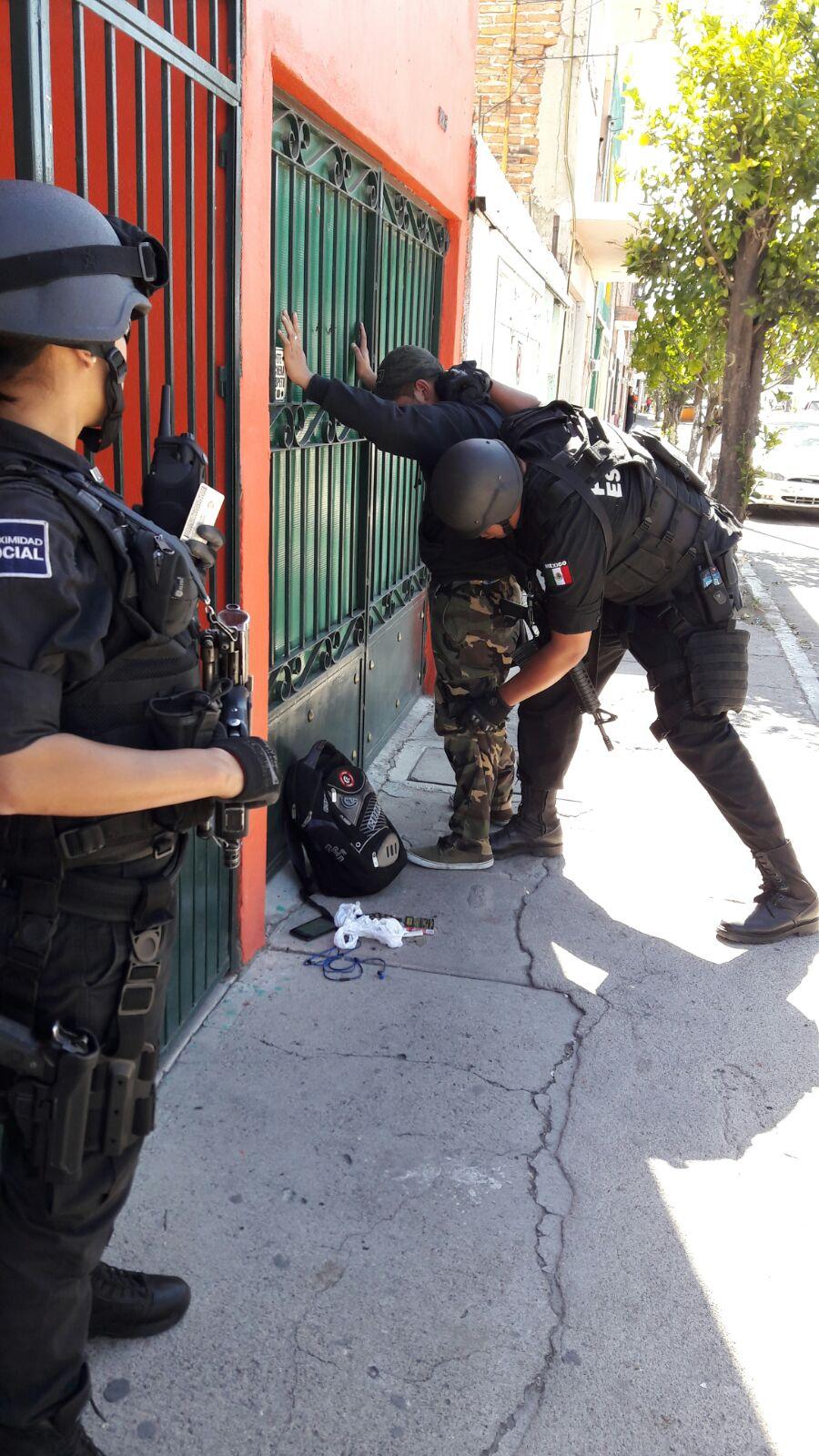 Capturan a asaltante de joyería del Parian, se llevó 200 mil pesos
