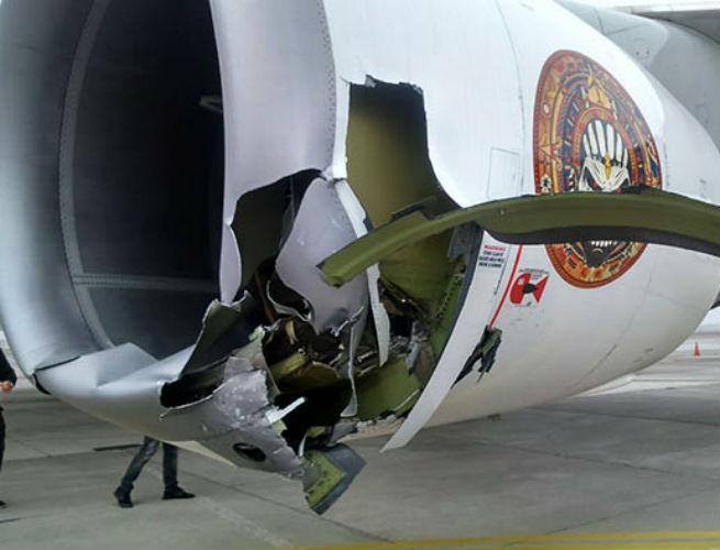 El avión de Iron Maiden chocó en Chile