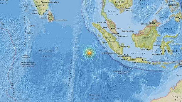 Alerta de tsunami tras registrarse un sísmo de 7,9 grados en Indonesia
