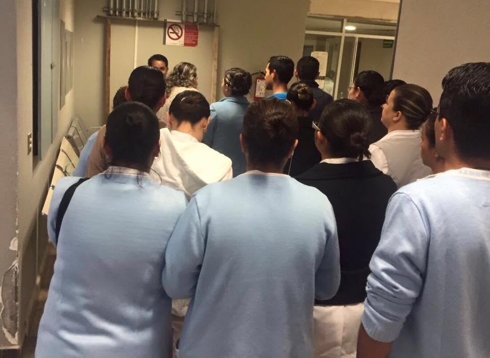 Paro de labores de 300 trabajadores eventuales del ISSSSTE