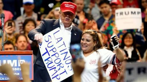 Indigna mexicana que apoyó a Trump
