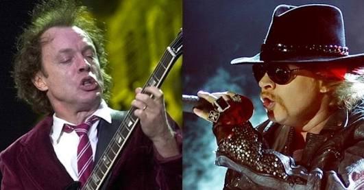 El cantante Axl Roses sustituirá a Brian Johnson en gira de AC/DC