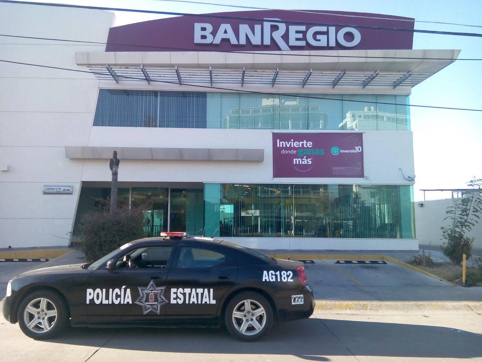 Refuerza la Estatal vigilancia en bancos y cajeros
