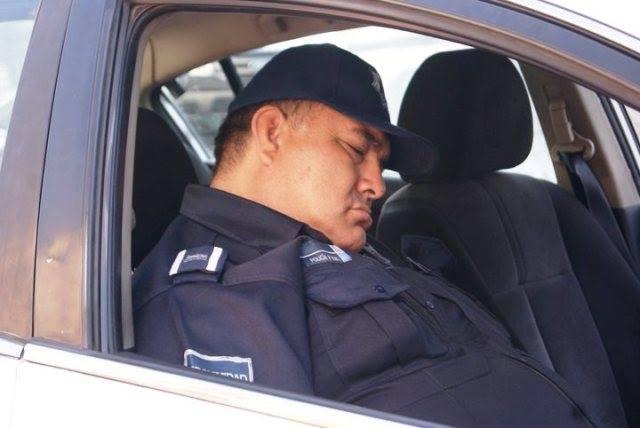 30 policías han sido castigados por dormirse en horas de trabajo en Ags