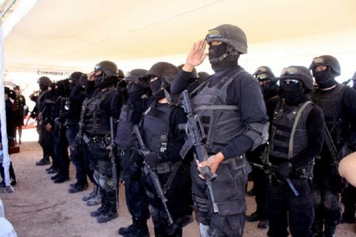 Recomienda la CEDH a policías en la FNSM no usar capuchas, ni chicharras
