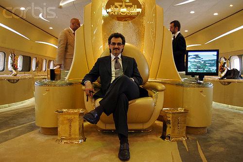 Así es la vida del hombre más rico de Arabia Saudita, el príncipe Al Waleed