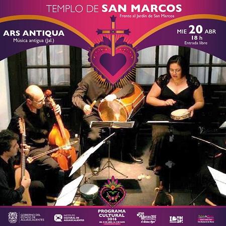 Arte, música y teatro ofrece la agenda cultural de este miércoles en la FNSM