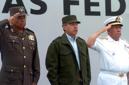 Fecal se apoyó en el Ejército para sostener su presidencia no para combatir al narco