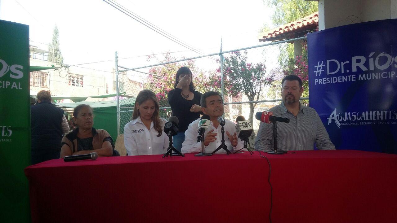 JAMC se lava las manos como Pilatos ante inseguridad: Ríos Alba