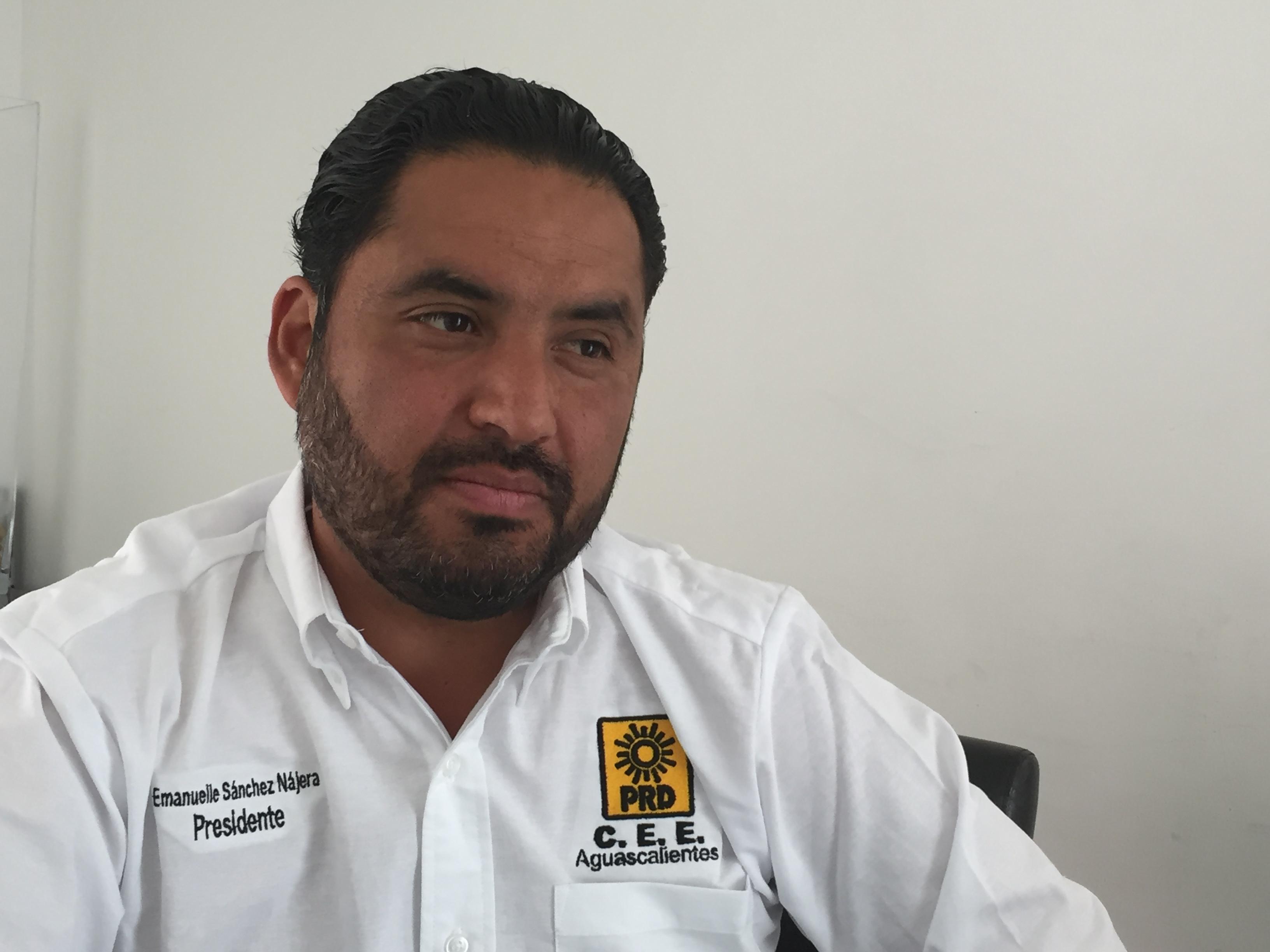 Niega espacios a partidos políticos PFNSM para que PRI no rebase topes de campaña: PRD