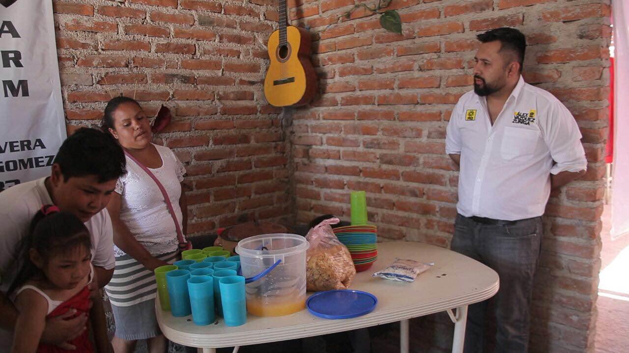 Basta de ser rehén de malos políticos: Alejandro Vázquez